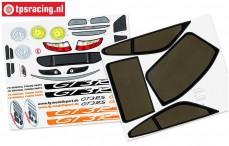 FG5175/01 Dekorbogen Porsche GT3-RSR, Set