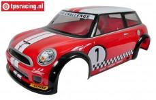 FG5179 Karosserie MINI Cooper Lackiert Rot, Set