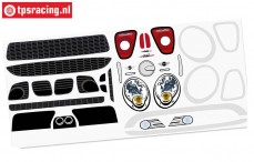 FG5185/01 Dekorbogen MINI Cooper, Set