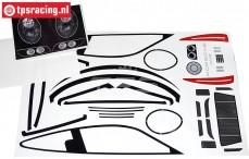 FG5194 Dekorbögen Porsche 911 GT3-R, Set