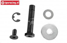 FG6024 Servo-Saver Achse mit ring, set