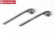 FG6045/02 Stahl Bremshebel, Ø2-L45 mm, 2 St.