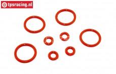 TPS6093 Stoßdämpfer Silikon O-Ring, Set