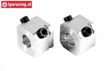 FG6107/01 Alu Felgen Vierkantmitnehmer. L14 mm, 2 st