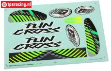 FG6154/02 Dekorbogen Fun Cross, Set
