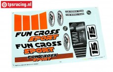 FG6155/02 Dekorbogen Fun Cross, Set