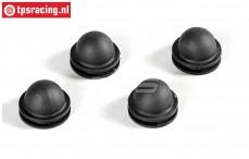 FG6176 Kap steun rubber, 4 st.
