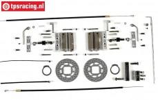 FG6250/07 Tuning-Scheibenbremse vorne, Monster/Stadium, Set