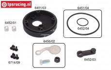 FG6456 Lufftfilter adapter mit choke, (Ø62 mm), set