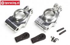 FG6478 Aluminium achsschenkel hinten erhöht 2WD/4WD, Set
