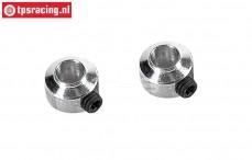 FG67260/04 Aluminium Stellring Ø5,1 mm, 2 St.