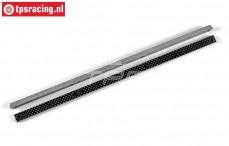 FG67271/02 Kohlefaserstrebe, L370-B14-H8,0 mm, Set