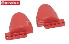 FG67336/01 Stoßdämpfer-Schutz Rot, 2 st.