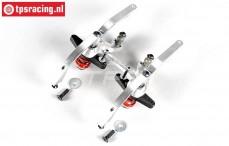 FG67371 Alu-Doppel-Servo-Saver 2WD, Set