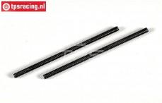 FG67542 Stahl Gewindestange , (M4R-L83 mm), 2 St.