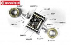 FG68407 Differential 4-fach selbstsperrend 4WD, Set.