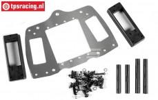 FG68414 Aluminium RC-Platte 4WD, Set