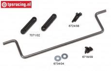 FG7071/06 Stabilisator 1/5 2WD hinten Ø5,0 mm, Set