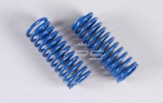 Schokdemper veer (Ø17-Ø21), (Ø2,5 x L57 mm), (Blauw), 2 St.