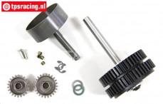 FG7452 2-Gang Getriebe FG 1/5 4WD, Set