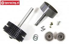FG7453 2-Gang Getriebe FG 1/6 4WD, Set