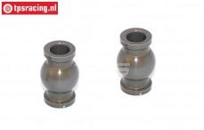 FG7475/01 Alu-Gelenkkugel mit Siliciumbeschichtung, 2 st.