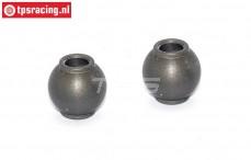 FG7475/03 Alu-Gelenkkugel mit Siliciumbeschichtung, 2 st.