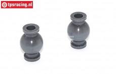 FG7475/05 Alu-Gelenkkugel mit Siliciumbeschichtung, 2 st.