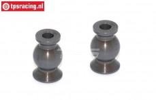 FG7475/06 Alu-Gelenkkugel mit Siliciumbeschichtung, 2 st.