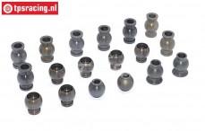 FG7475 Alu-Gelenkkugel mit Siliciumbeschichtung 1/5, 18 St.