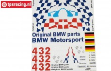 FG8170 Team Dekorbogen BMW M3 GTR, Set