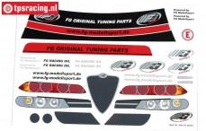 FG8079/01 Dekorbogen Alfa Romeo 156WTCC, Set