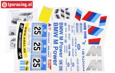 FG8185 Team Dekorbogen BMW ALMS, Set