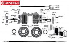 Konstruktionszeichnung Kabelbremsen FG8452/05