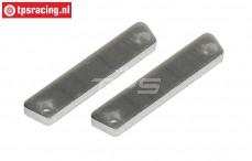 FG8456/01 Aluminium Bremsbelag, 2 St.