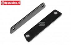 FG8456 Stahl Bremsplatten, 2 St.