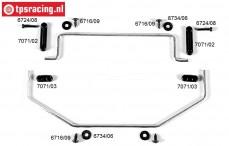 FG8511 Stabilisator 2WD vorne/hinten Ø4,0 mm, Set