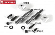 FG8610/10 Tuning Vorderachse set B14 mm, Set
