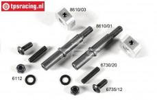 FG8610/11 Tuning Vorderachse set B9,5 mm, Set