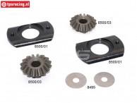 Konstruktionszeichnung Differential FG8497