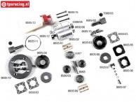 Konstruktionszeichnung Viscose Differential FG8605