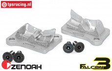 ZN32002F3 Zenoah G320 Tuning Überstromkanal abdeckung, Set