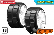 GWH02-XM2 1/5 Reifen Soft Ø120 mm, 2 st.