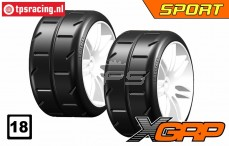 GWH02-XS3 1/5 Reifen Soft Ø120 mm, 2 st.