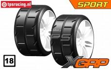 GWH02-XS5 1/5 Reifen Medium Ø120 mm, 2 st.