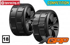 GWH02-XM3B 1/5 Reifen Medium Ø120 mm, 2 st.