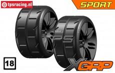 GWH02-XS3B 1/5 Reifen Soft Ø120 mm, 2 st.