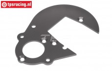 HPI102161 Getriebeplatte Gun Metal, 1 st.