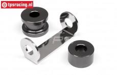 HPI102164 Motor Distanzstück Gun-Metal, Set
