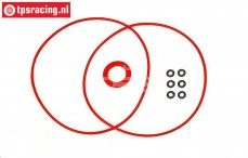 HPI105400 Servo gehause O-ring HPI SFL-11MG, Set